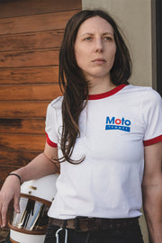 Buy the moto femmes gasoline tee online at Moto Est. Australia 3