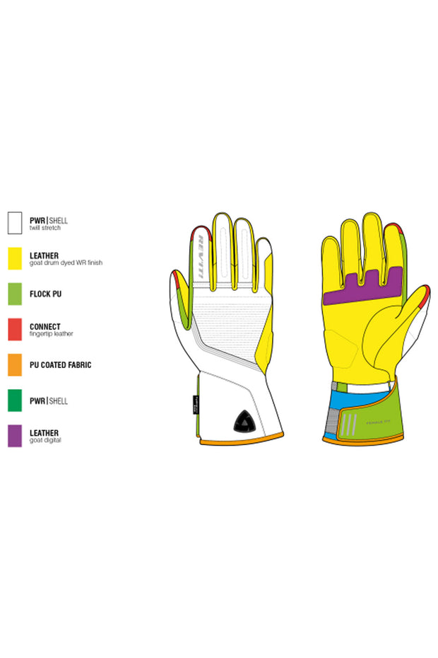 Buy the revit drifter 3 h2o ladies gloves online at Moto Est. Australia 3