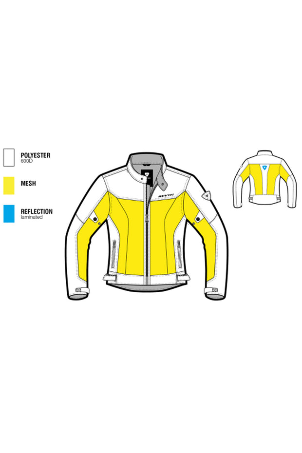 Buy the eclipse jacket silver online at Moto Est. Australia 3