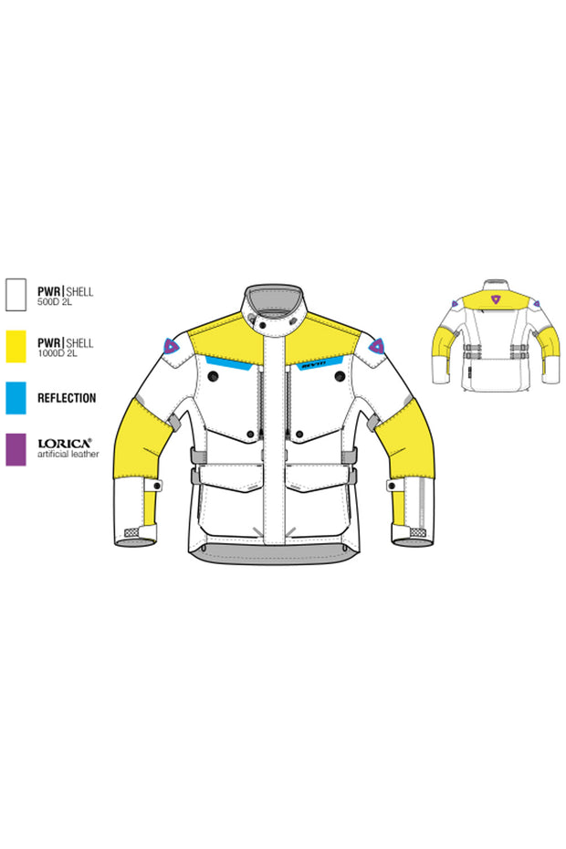 Buy the revit horizon 2 ladies motorcycle jacket online at Moto Est. Australia 3