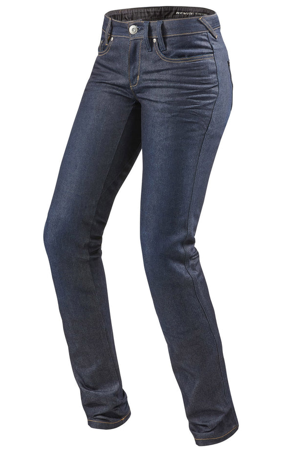 REV'IT! Madison 2 Ladies Motorcycle Jeans in Blue online at Moto Est. Australia