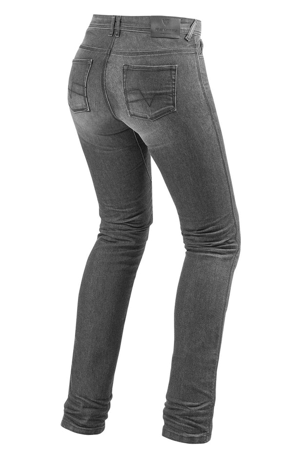 Buy the revit ladies madison 2 jeans grey online at Moto Est. Australia