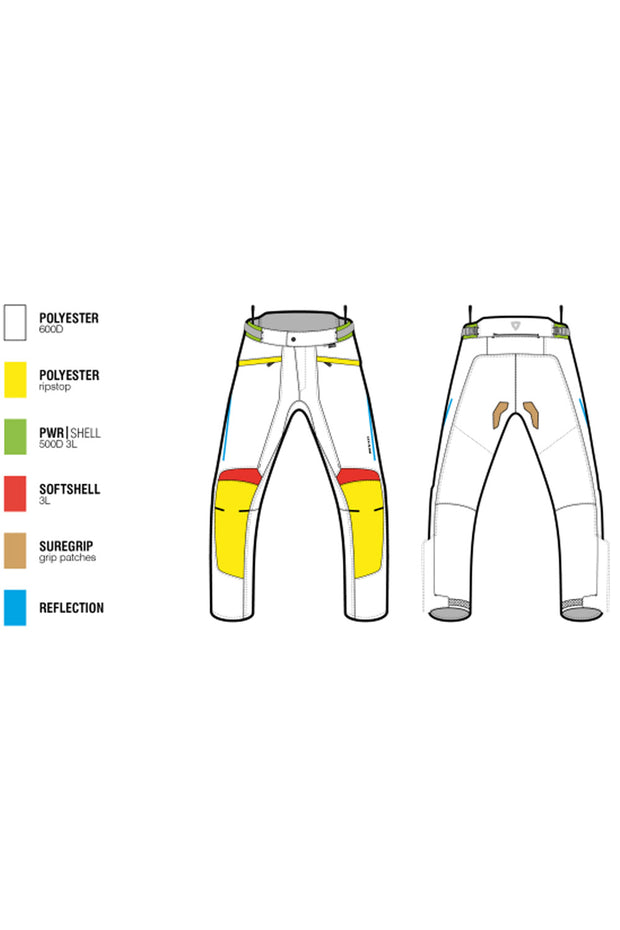 Buy the revit factor 4 ladies motorcycle pants online at Moto Est. Australia 3