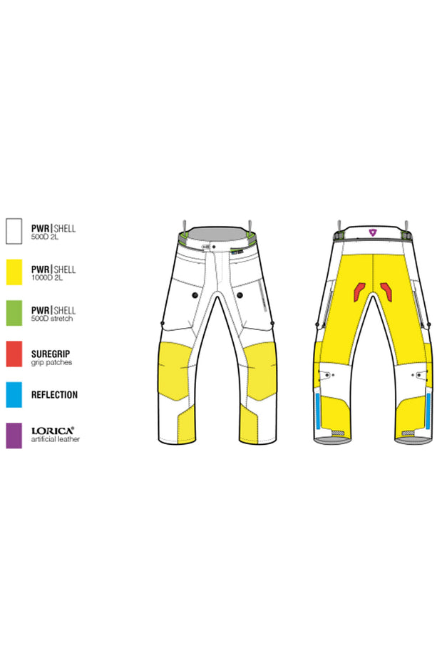 Buy the revit horizon 2 ladies motorcycle pants online at Moto Est. Australia 3