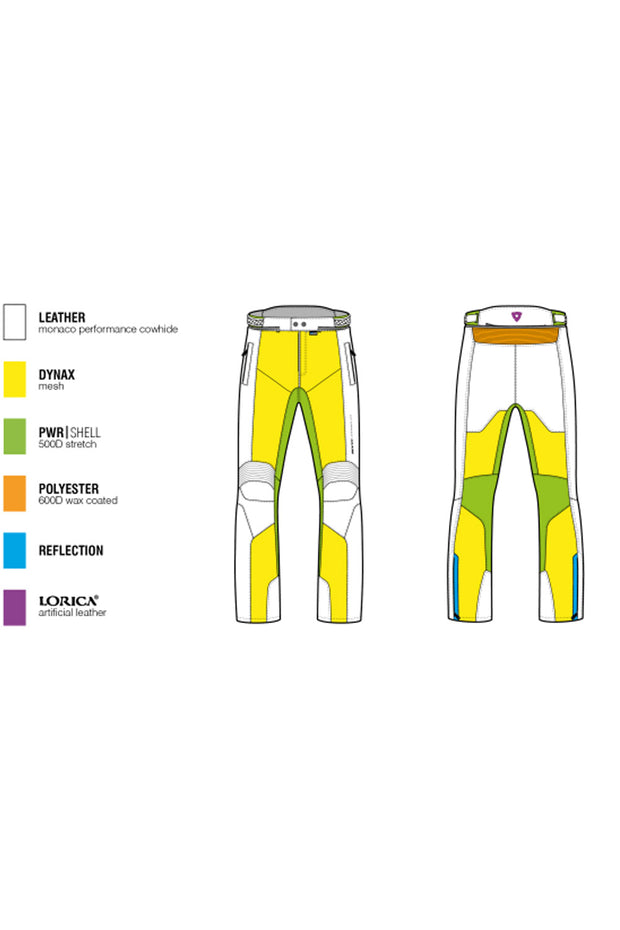 Buy the revit ignition 3 ladies motorcycle pants online at Moto Est. Australia 3