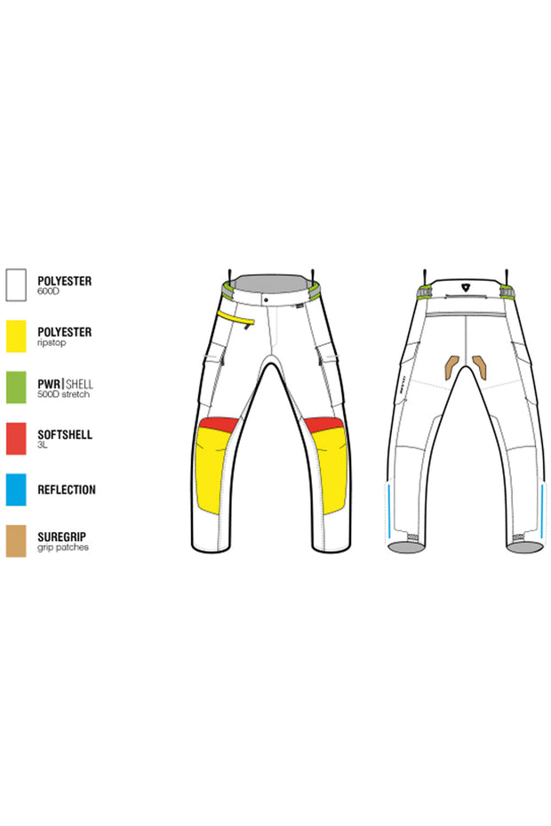 Buy the revit outback 3 ladies pants online at Moto Est. Australia 3