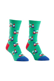 Sock It To Me Crew Socks in Gnome and Mushroom online at Moto Est. Australia