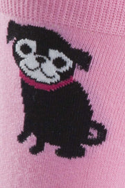 Buy the crew socks pink pugs online at Moto Est. Australia