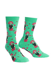 Punk Poodle Women's Crew Socks