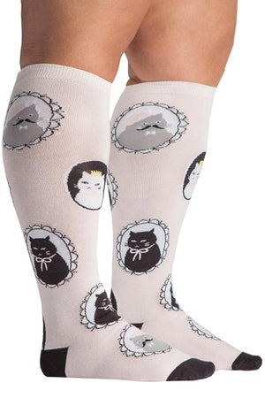 Stretch-It Knee High Socks | Cameow