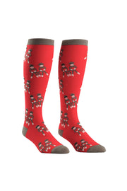 Sock It To Me Stretch-It Knee High Socks in Monkey Love online at Moto Est. Australia