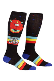 Stay Weird Knee High Socks