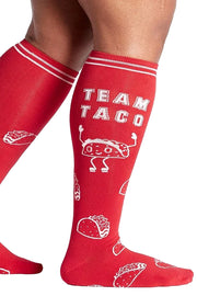 Team Taco Knee High Socks