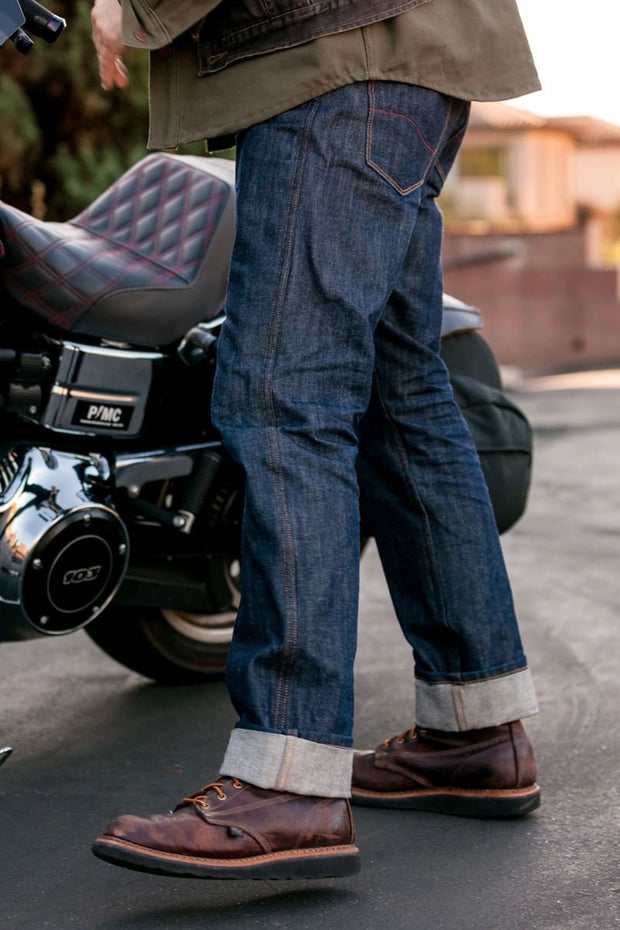 Tobacco relaxed fit kevlar motorcycle jeans online Australia