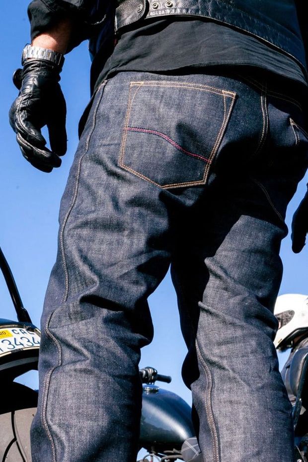 relaxed fit kevlar motorcycle jeans online Australia Moto Est.