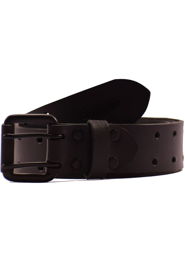 Trip Machine Double Pin Belt in Matte Black online at Moto Est. Australia