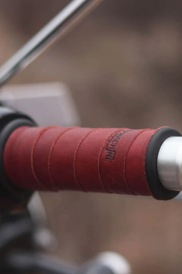 Buy the trip machine grip wraps cherry red online at Moto Est. Australia