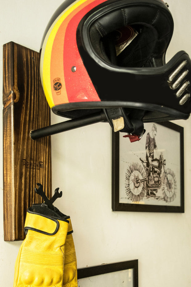 Buy the trip machine helmet hanger online at Moto Est. Australia 5