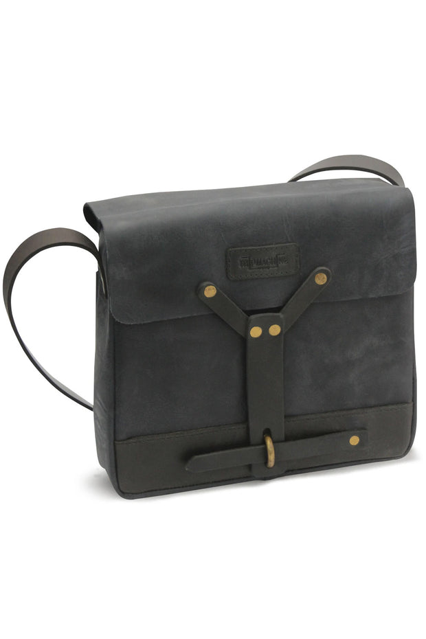 Trip Machine Messenger Bag in Black online at Moto Est. Australia