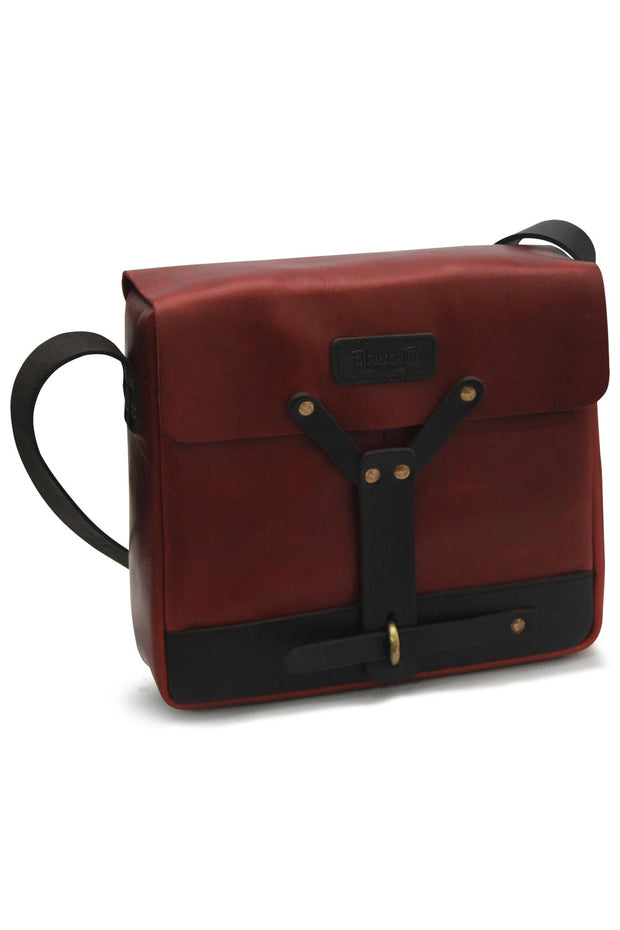 Trip Machine Messenger Bag in Cherry Red online at Moto Est. Australia