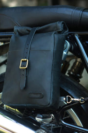 Buy the classic mini pannier black online at Moto Est. Australia 3