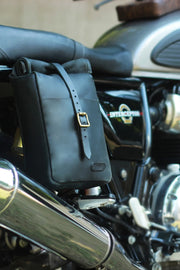 Buy the classic mini pannier black online at Moto Est. Australia