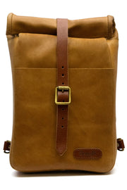 Trip Machine Classic Mini Pannier in Tan online at Moto Est. Australia