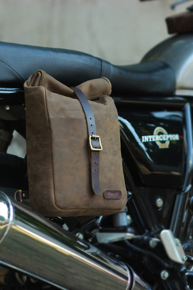 Buy the classic mini pannier tobacco online at Moto Est. Australia