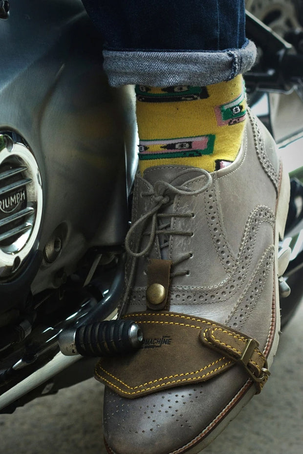Trip Machine Motorcycle Shoe Protector in Tobacco online at Moto Est. Australia - 2