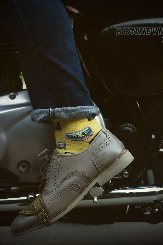 Trip Machine Motorcycle Shoe Protector in Tobacco online at Moto Est. Australia - 3