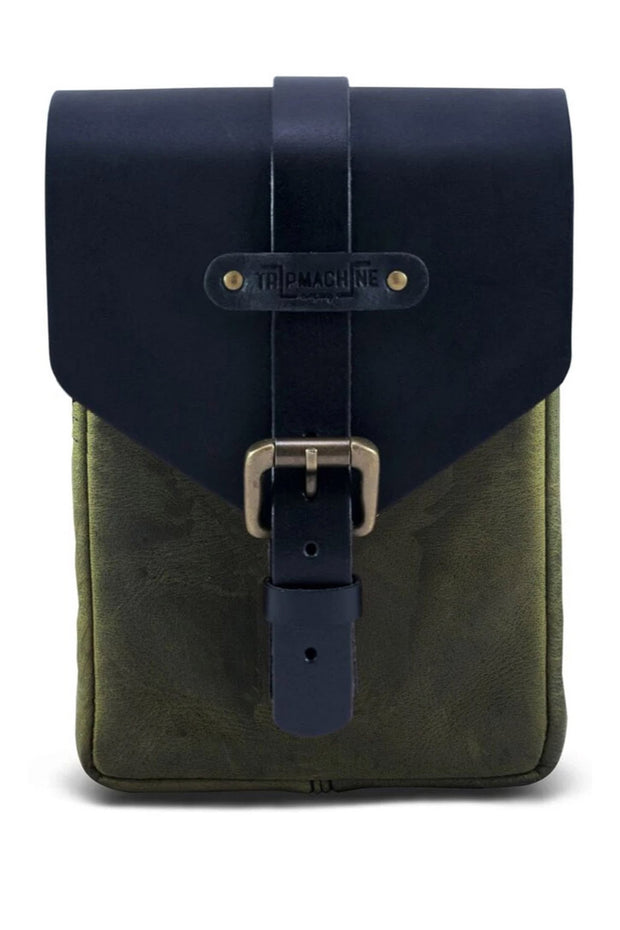 Trip Machine Tank Pouch in Army Green online at Moto Est. Australia