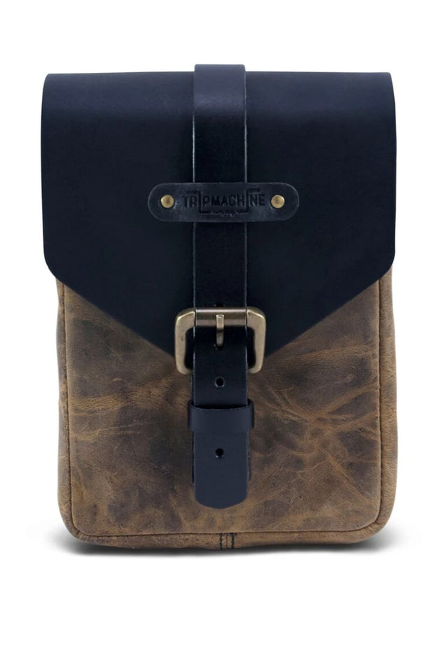 Trip Machine Tank Pouch in Tobacco online at Moto Est. Australia