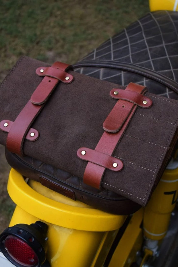 Buy the tool roll tobacco tan online at Moto Est. Australia 3