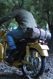 Trip Machine Military Tobacco Duffle Bag Motorcycle Mountable