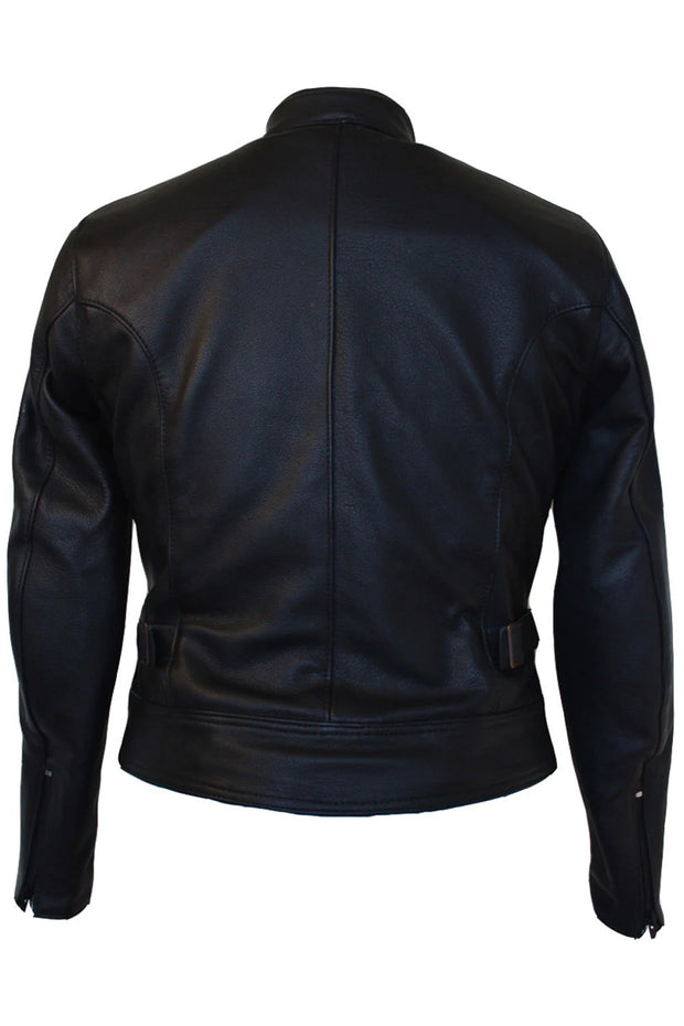 Buy the avanti tt leather jacket black online at Moto Est. Australia