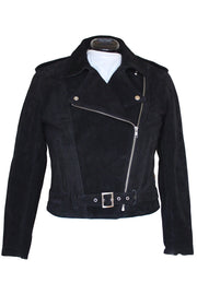 Walden Miller RDO Women's Suede Motorcycle Jacket in Black online at Moto Est. Australia