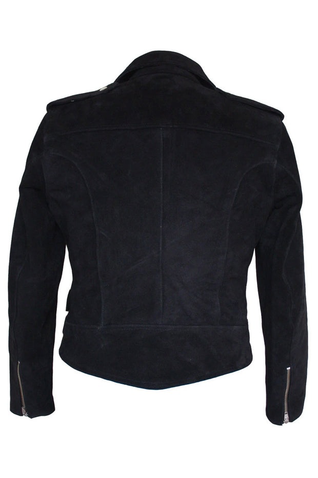 Buy the rdo suede jacket black online at Moto Est. Australia