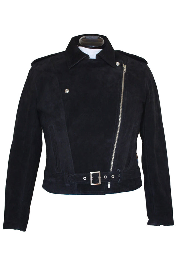 Buy the rdo suede jacket black online at Moto Est. Australia 3