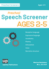 PRESCHOOL SPEECH SCREENER | Ages 2-5
