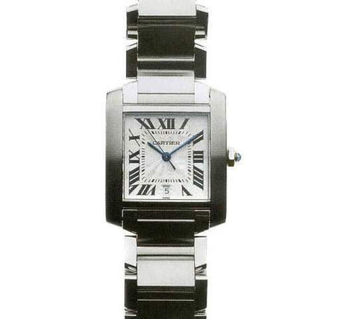 Cartier Tank Francaise Watch W51002Q3