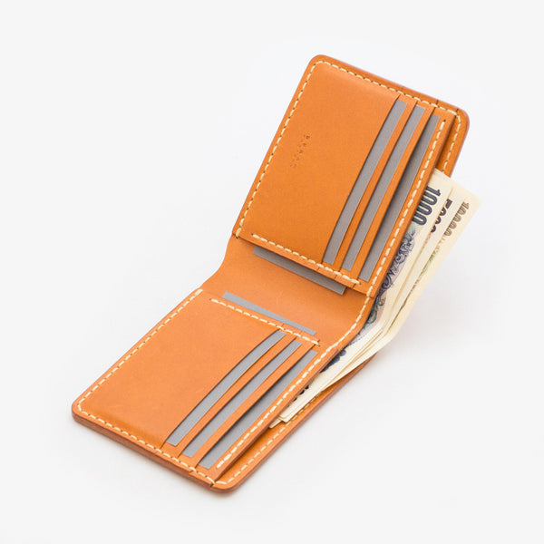 Leather Bi-fold Wallet - Open 2