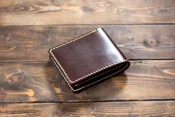 Leather Bi-fold Wallet - Image 1