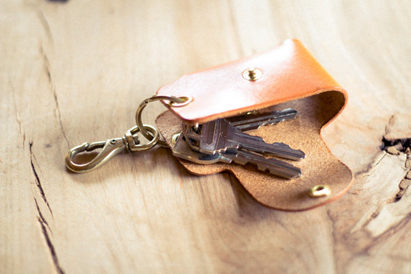 Leather Smart Key Case - Image 2