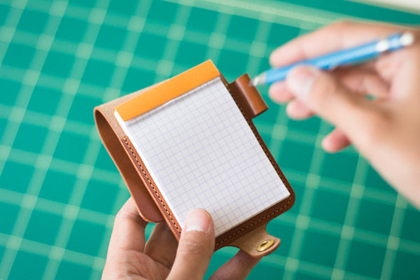 Leather Notepad Holder - Image 2