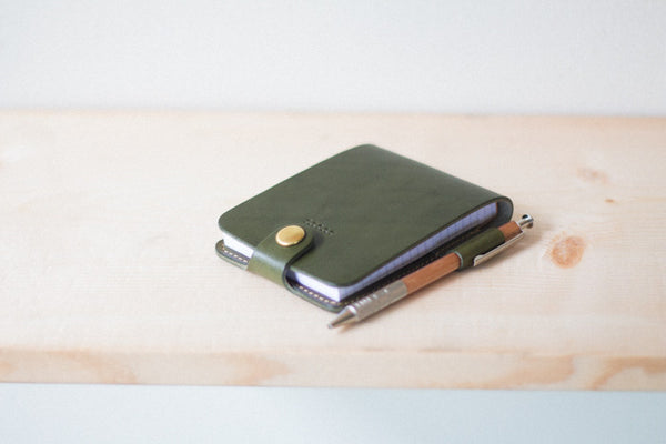 Leather Notepad Holder - Image 1
