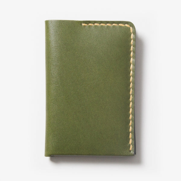 Leather Card Case - Green