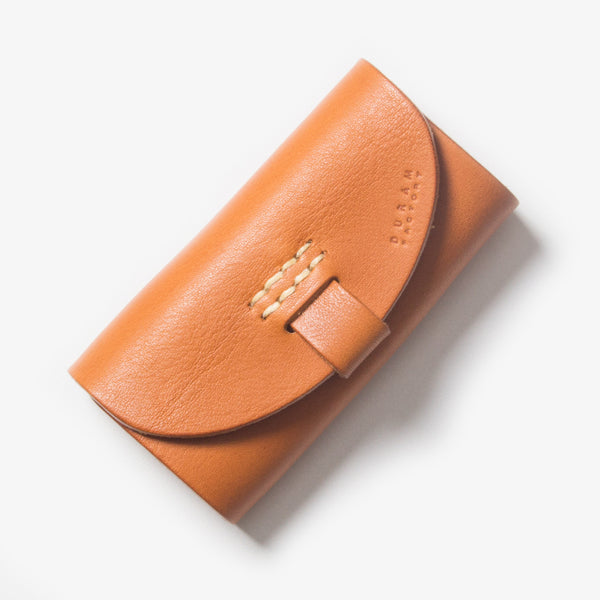 Leather Key Case - Light Brown