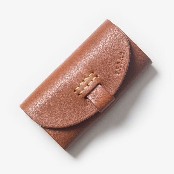 Leather Key Case - Brown