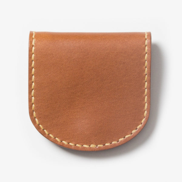 Leather Coin Case - Brown