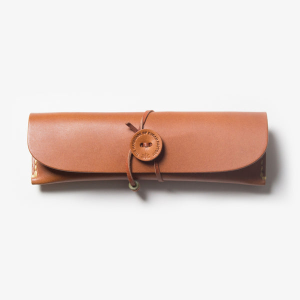 Leather Pen Case - Brown